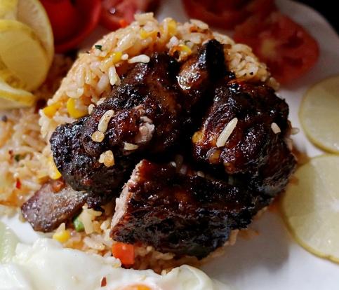 Crispy BBQ Pork Rib