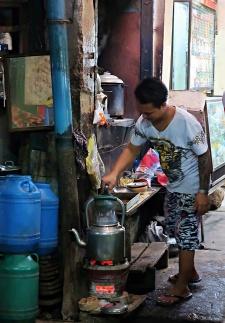 Zay Cho tea house