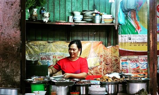 Zay Cho food stall