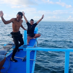 Diving with Fishermen