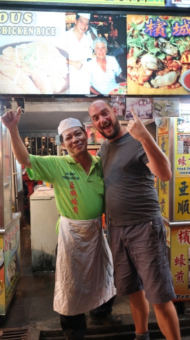 Chef meets chef meets Anthony Bourdain.