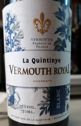 The finest vermouth in the house. Even though it is French!